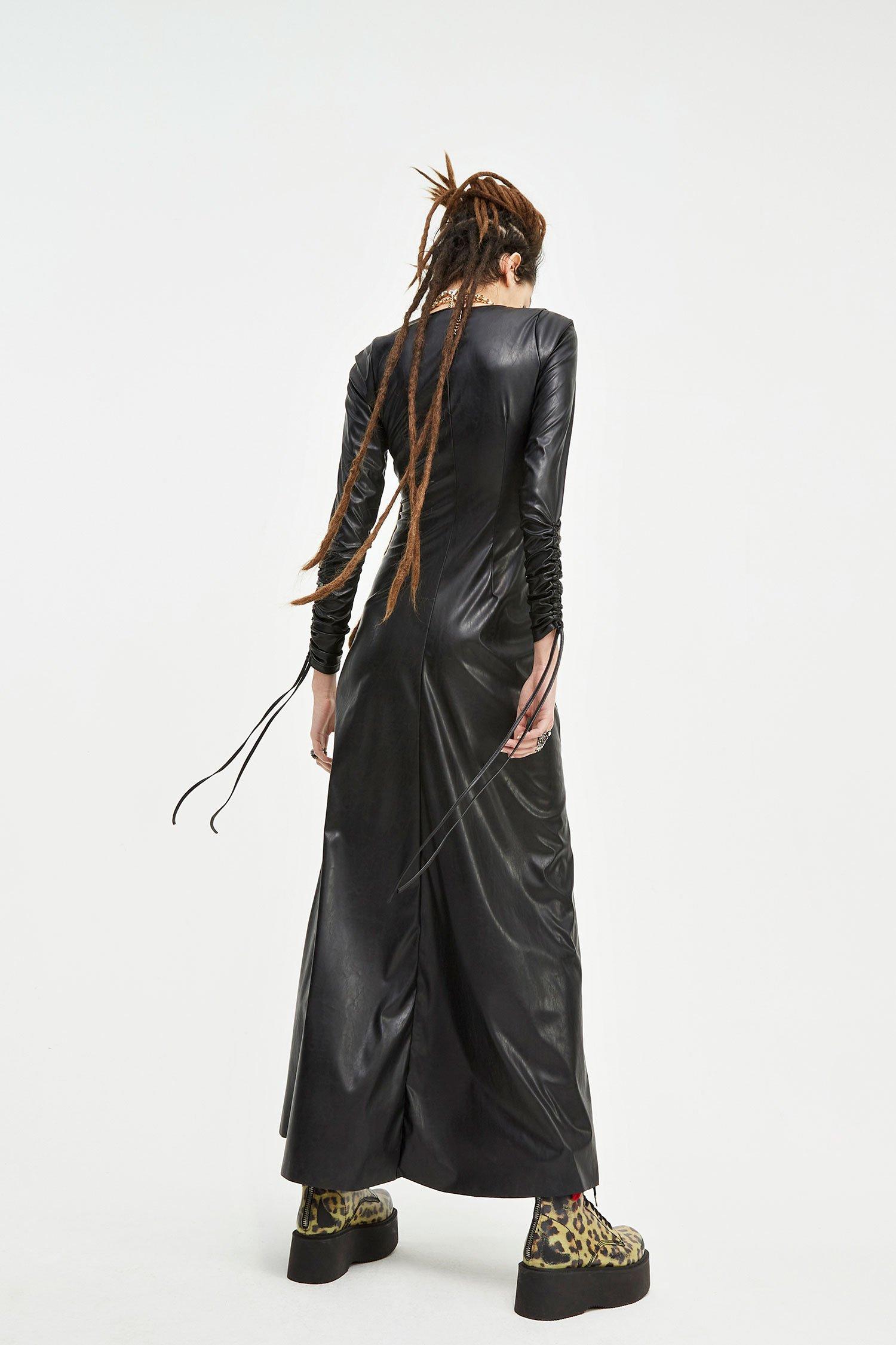LONG DRESS BERRY