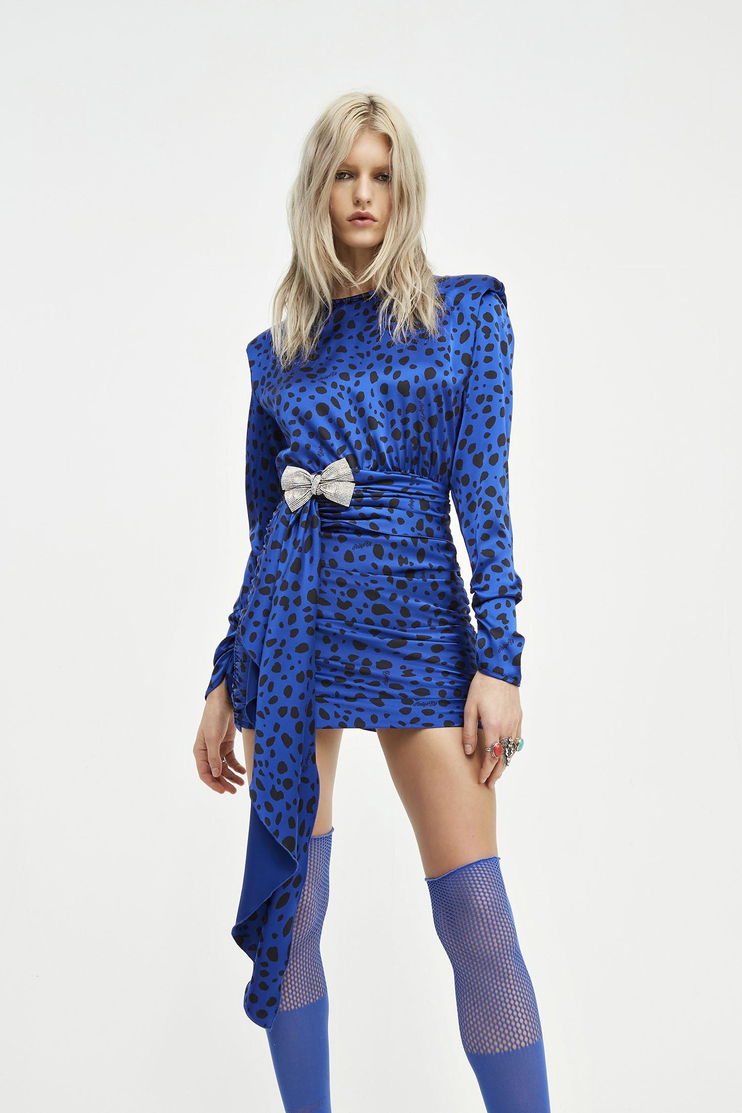 RIBBON DRESS MAKKY