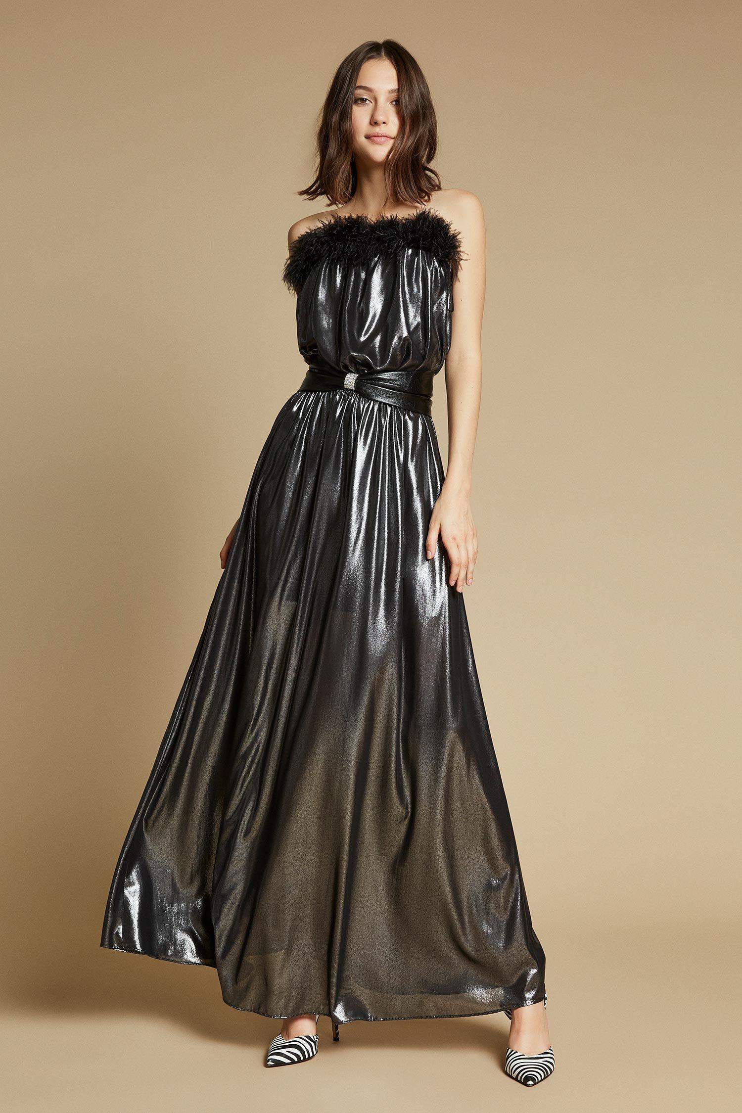 LONG DRESS SHINE