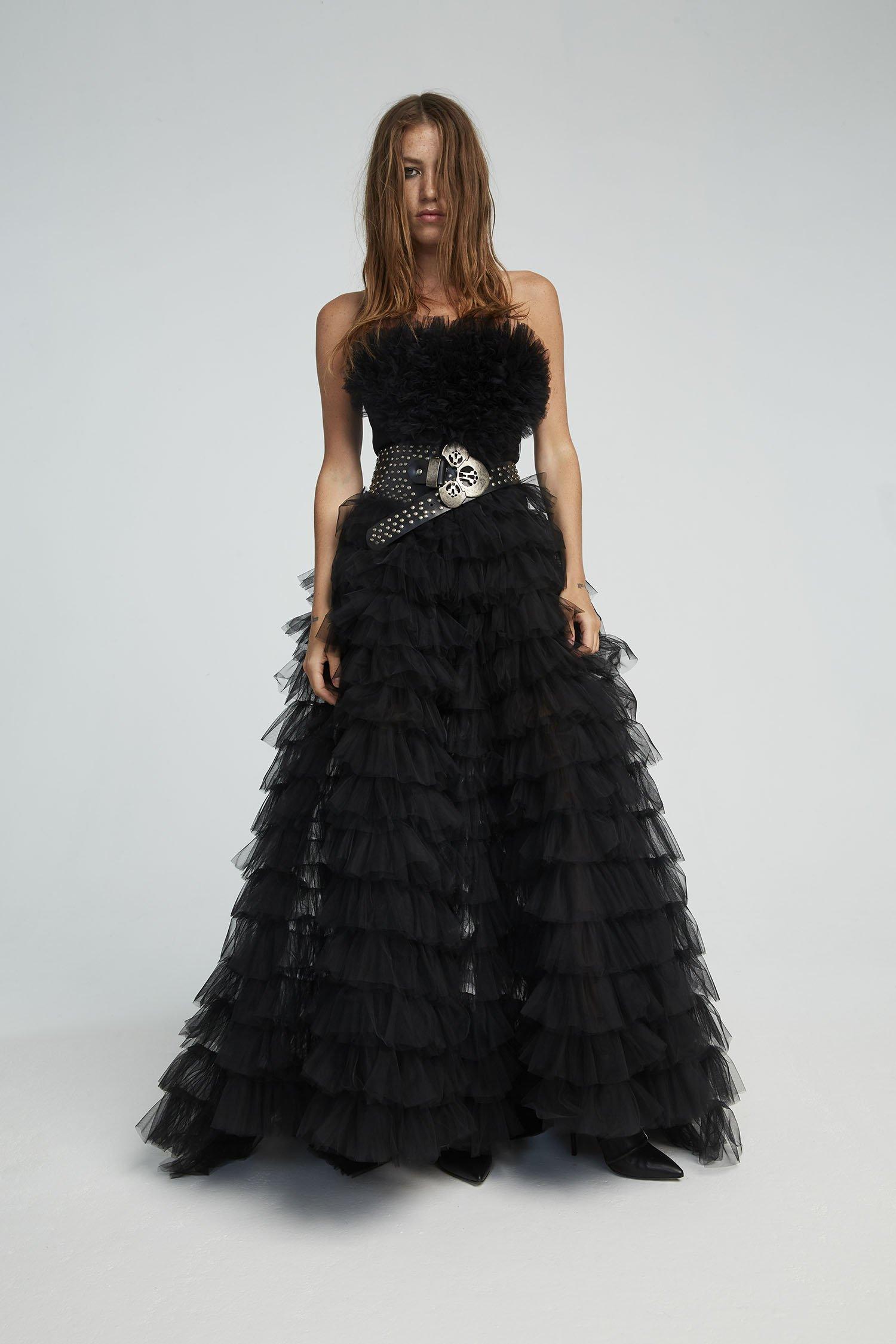 TULL DRESS