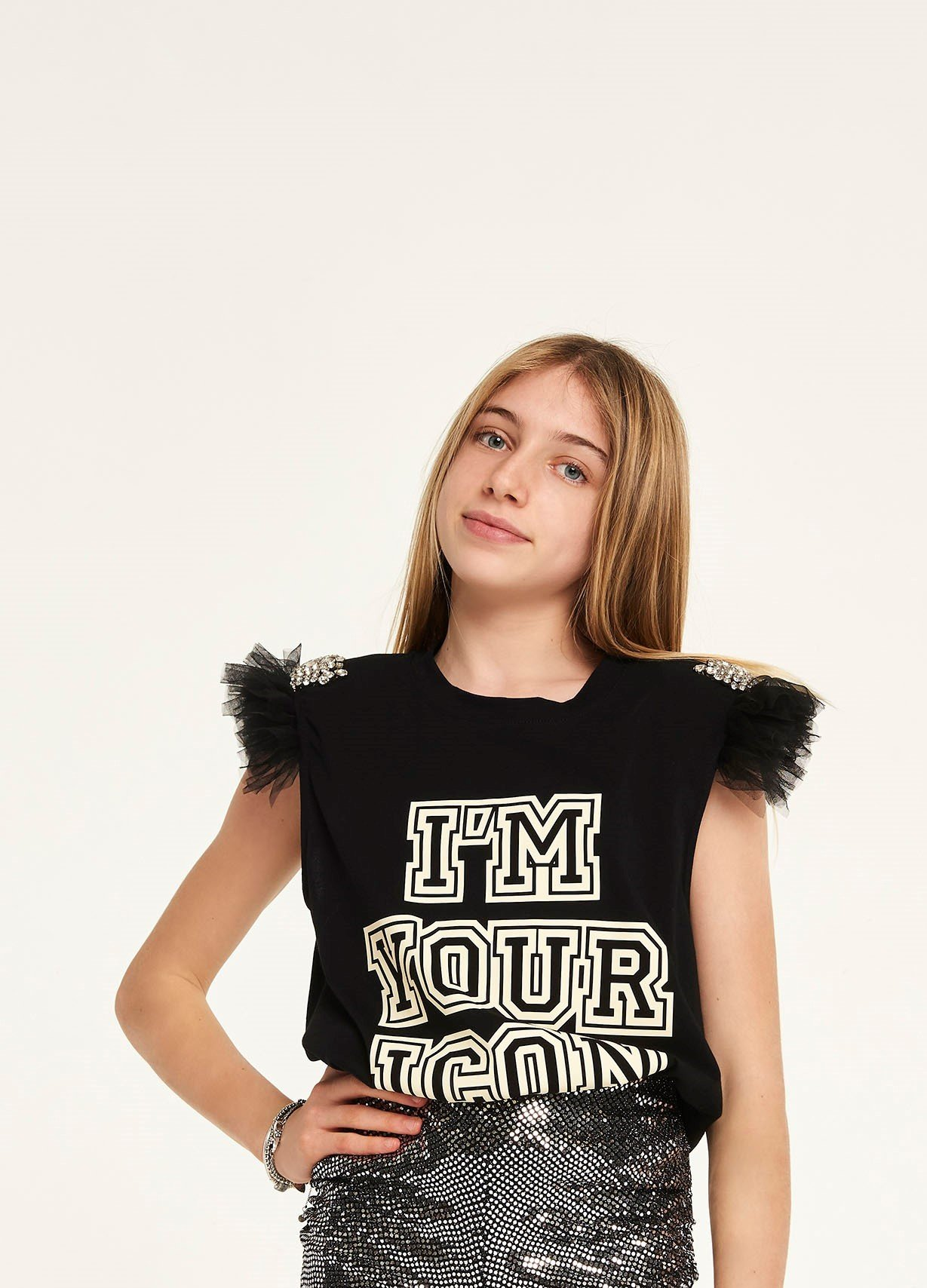 T-SHIRT ANIYE ICON - GIRL