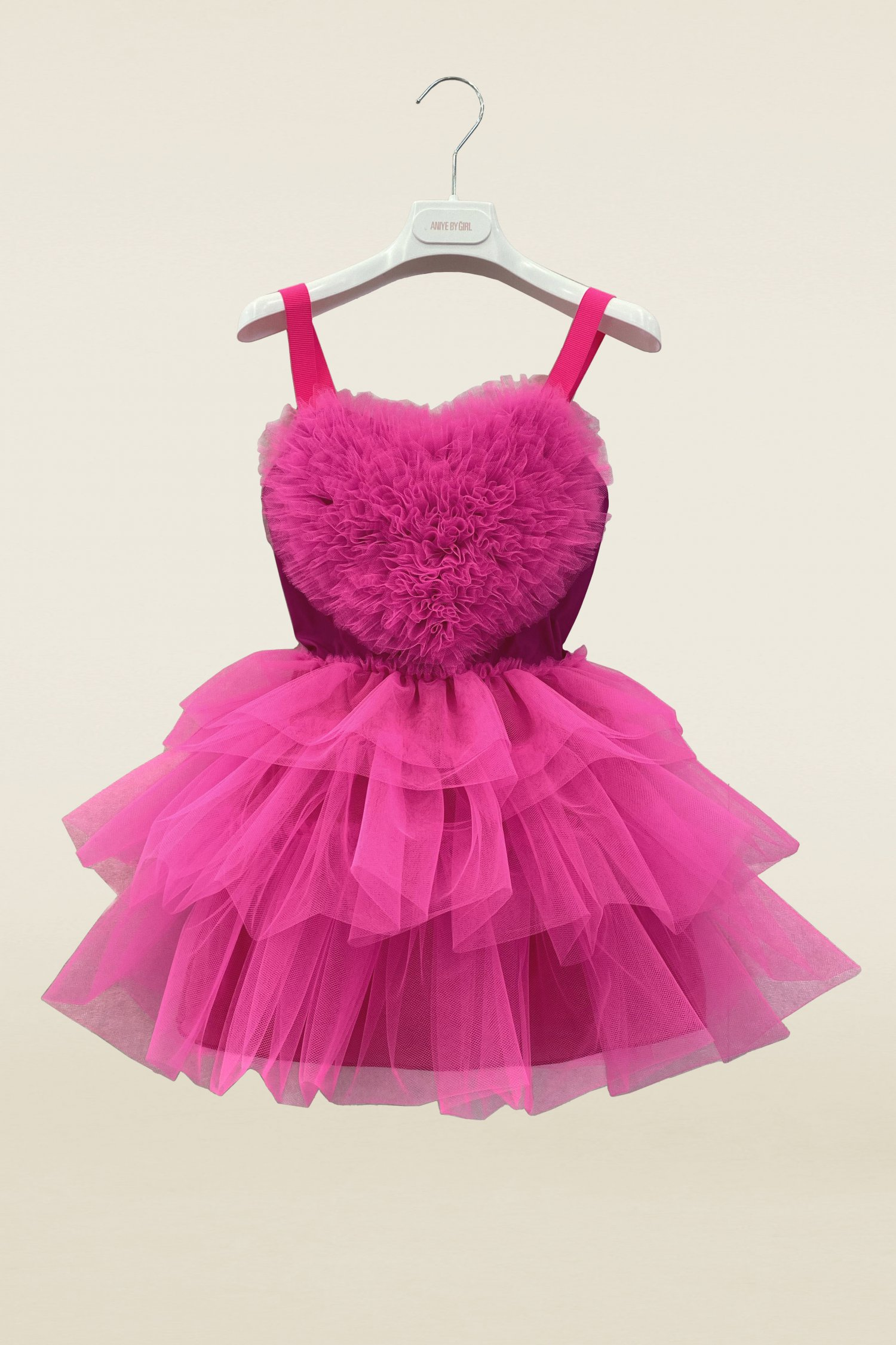 HEART DRESS NINA - GIRL